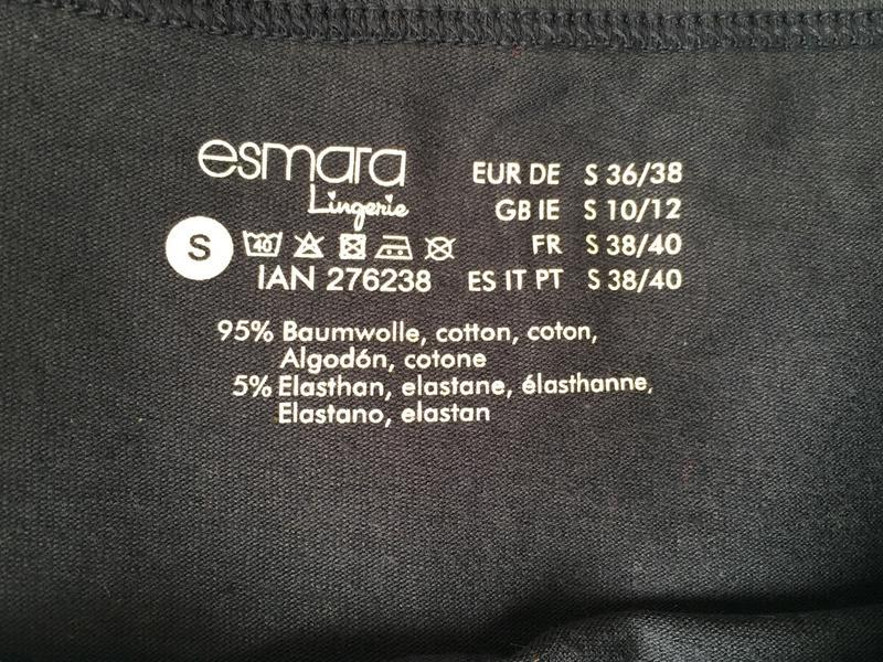 Темно-синяя майка на бретельках esmara lingerie. - Фото 7