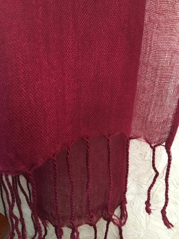 Красивый милый  длинный шарфик - Фото 4