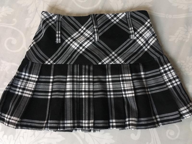 Красива юбка в клетку на девочку 8-9 лет - Фото 6