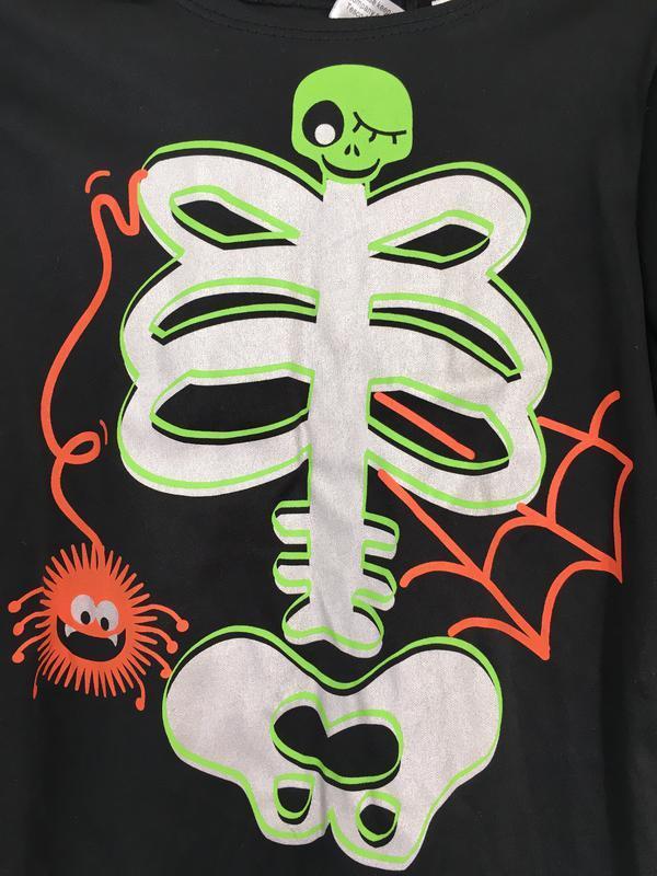 Карнавальный костюм скелета на мальчика 1-2 годика. на хеллоуи... - Фото 3