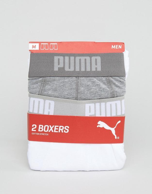 Оригинал набор 2 шт трусы боксеры boxers puma р-р s, m, xl