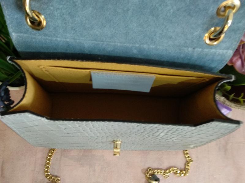Оригинальная и стильная сумочка с бамбуковой ручкой - Фото 7