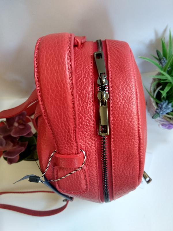 Лёгенький и удобный кожаный рюкзак - Фото 6