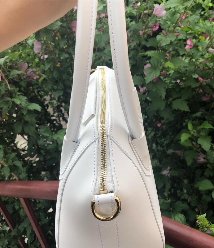 Кожаная сумка в стиле givenchy - Фото 3