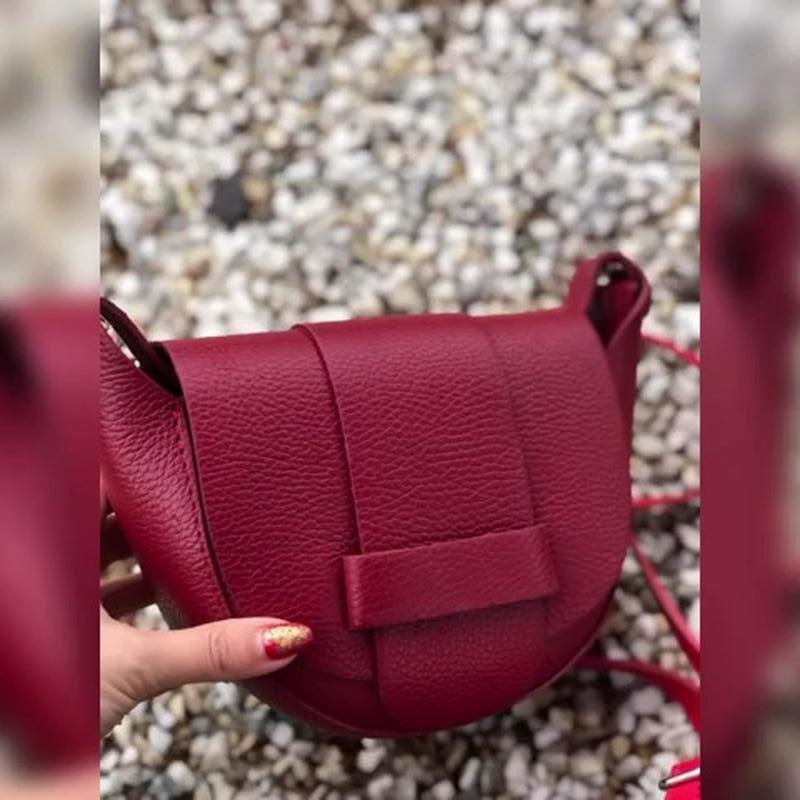 Симпатичные кожаные сумочки