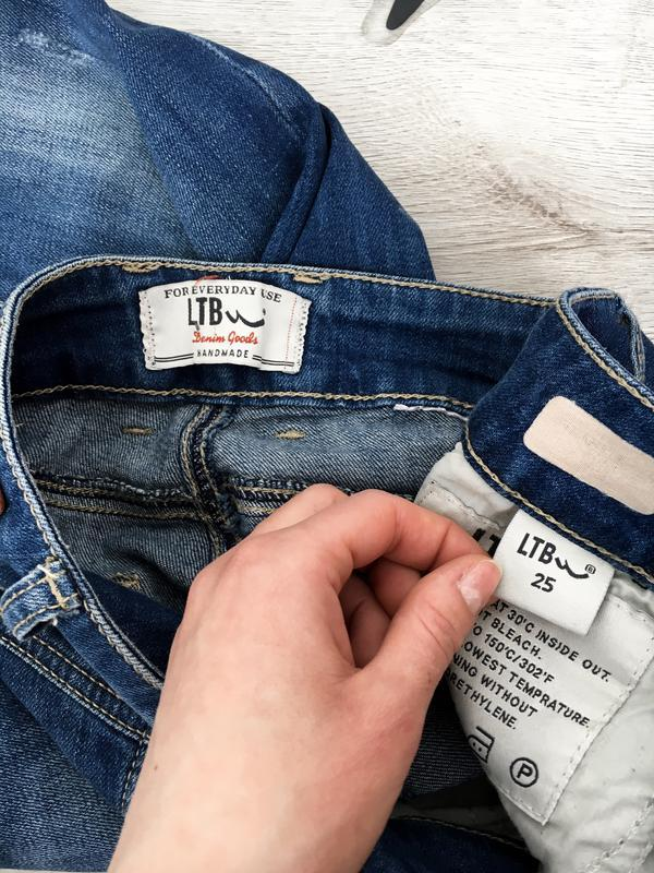 Красивые облегающие джынсовые штаны/джинси ltb - Фото 2