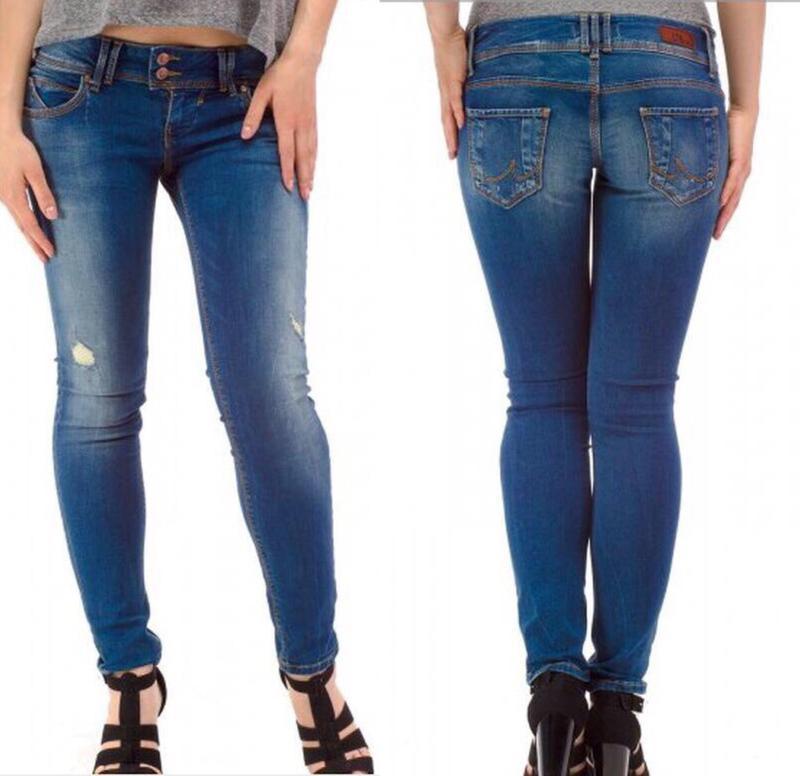 Красивые облегающие джынсовые штаны/джинси ltb - Фото 5