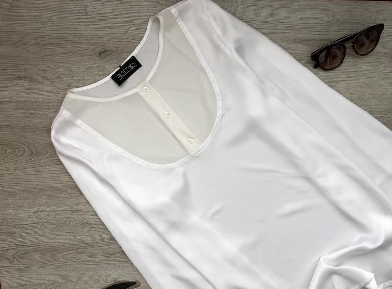 Изумительная блузка/блуза/туника eklėttika италия - Фото 2