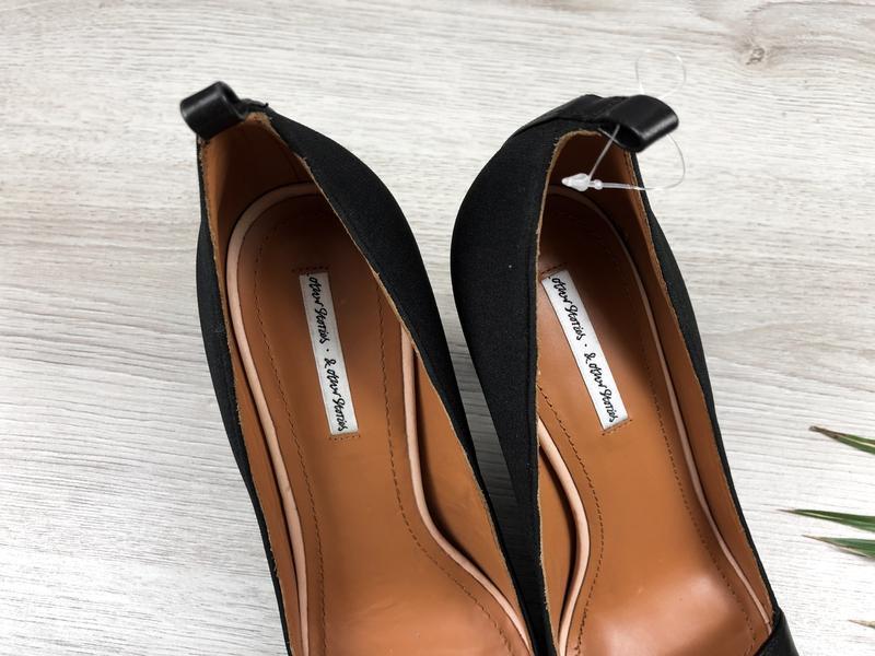 Изумительные кожаные туфли с открытым носком & other stories - Фото 4