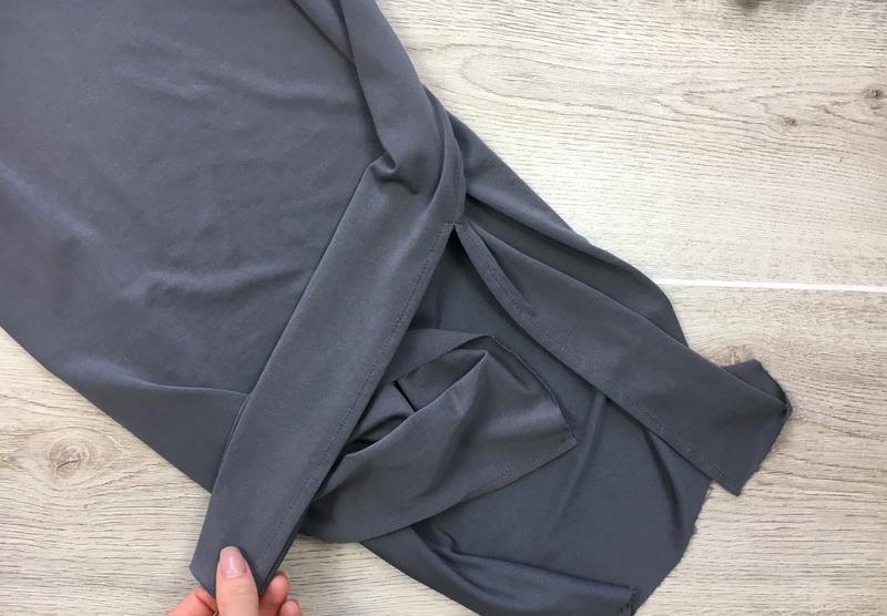 Крутое миди платье с разрезами по боках selected femme - Фото 2