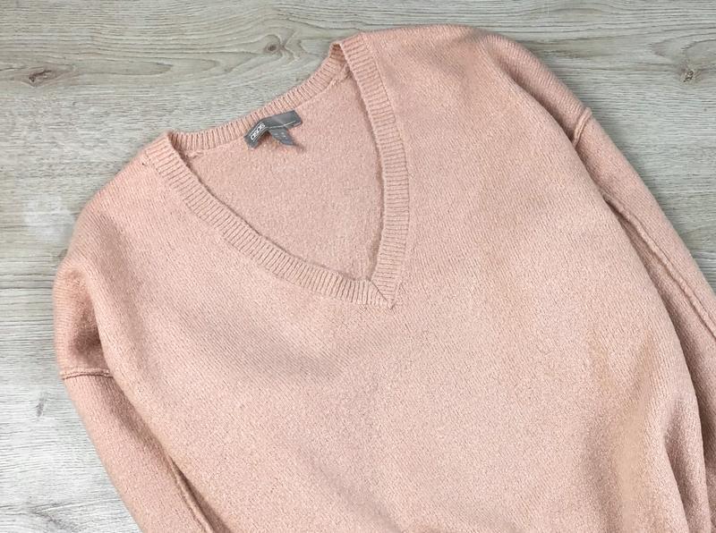 Милейший свитер/джемпер/пуловер/реглан цвета пудры asos - Фото 2