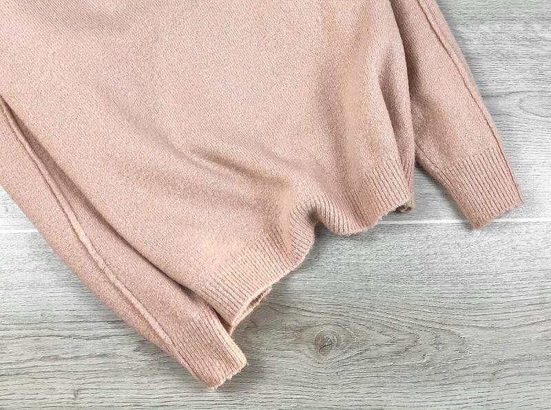 Милейший свитер/джемпер/пуловер/реглан цвета пудры asos - Фото 3