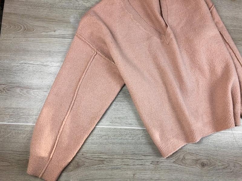 Милейший свитер/джемпер/пуловер/реглан цвета пудры asos - Фото 5