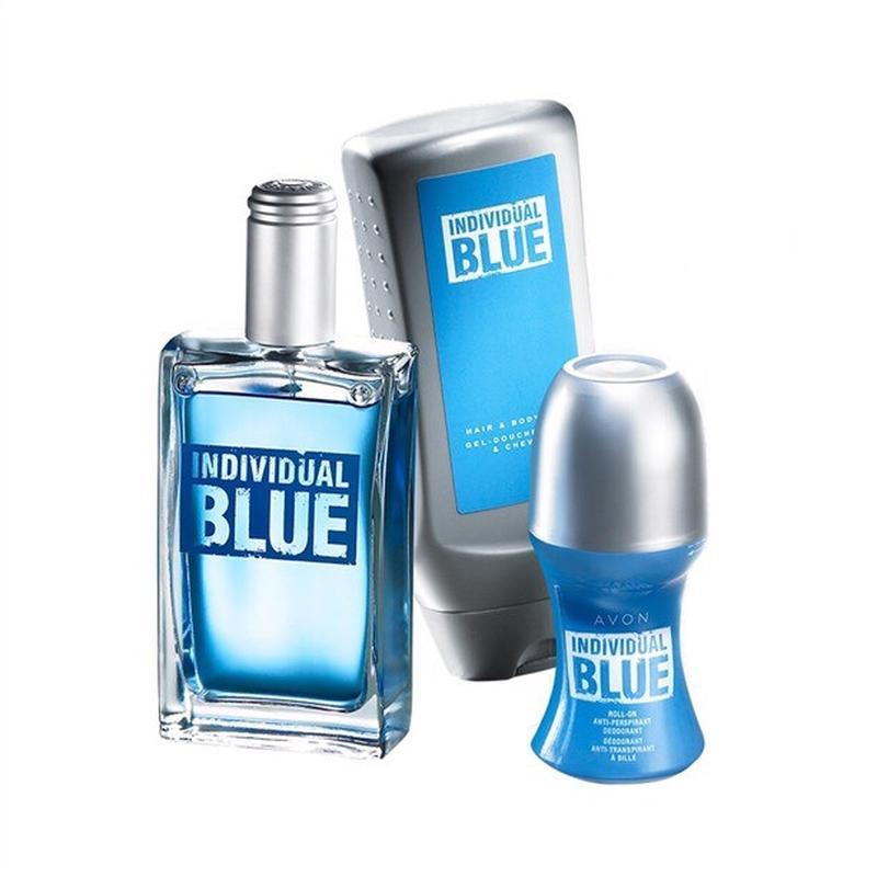 Набор Individual Blue, Avon, Эйвон Индивидуал Блу, мужской подаро