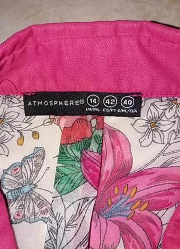 Яркая шифоновая блуза - Фото 5