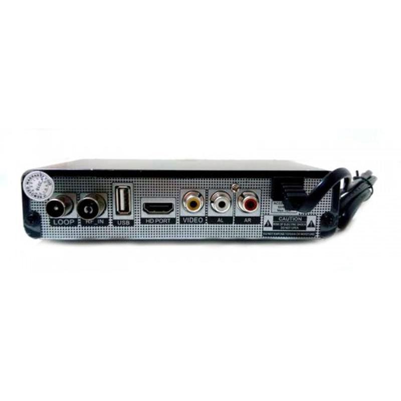 Тюнер цифровой UKC DVB-T2 2058 Metal с поддержкой wi-fi адаптера