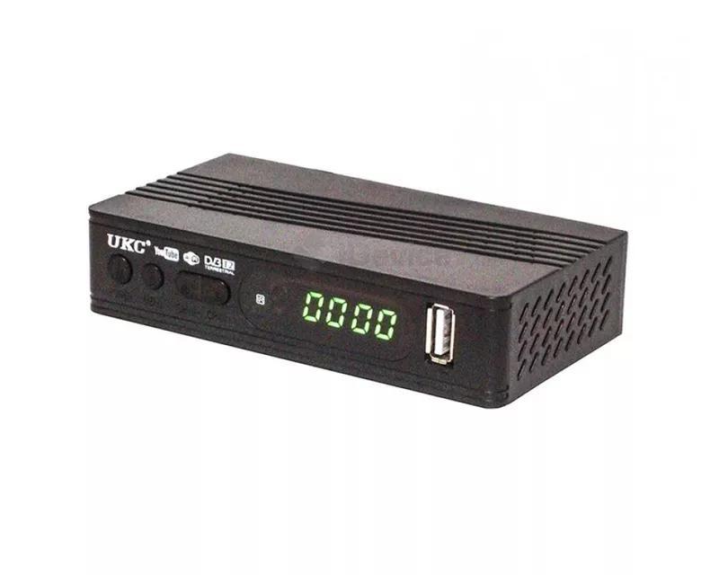 Цифровой эфирный Тюнер T2 UKC 0967 wi-fi DVB-Т2 ресивер - Фото 3