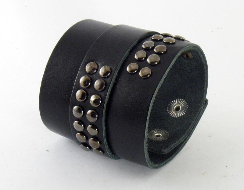 Кожаный браслет ny407 - Фото 2
