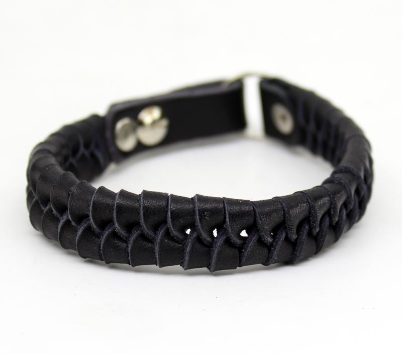 Кожаный браслет ny434-1 - Фото 2