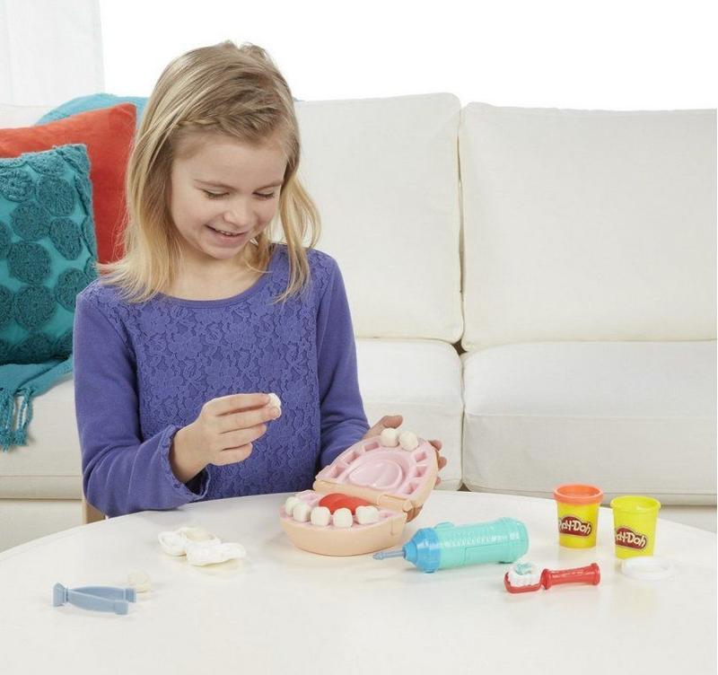 Набор для творчества Hasbro Play-Doh Мистер Зубастик (B5520) - Фото 4