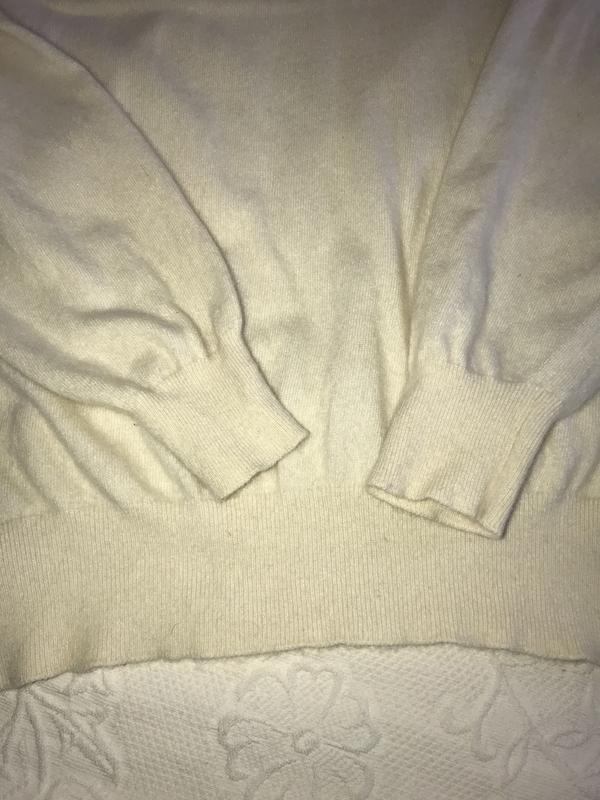 Гольф pure cashmere бежевый ballantyne 122/48 кашемир - Фото 5