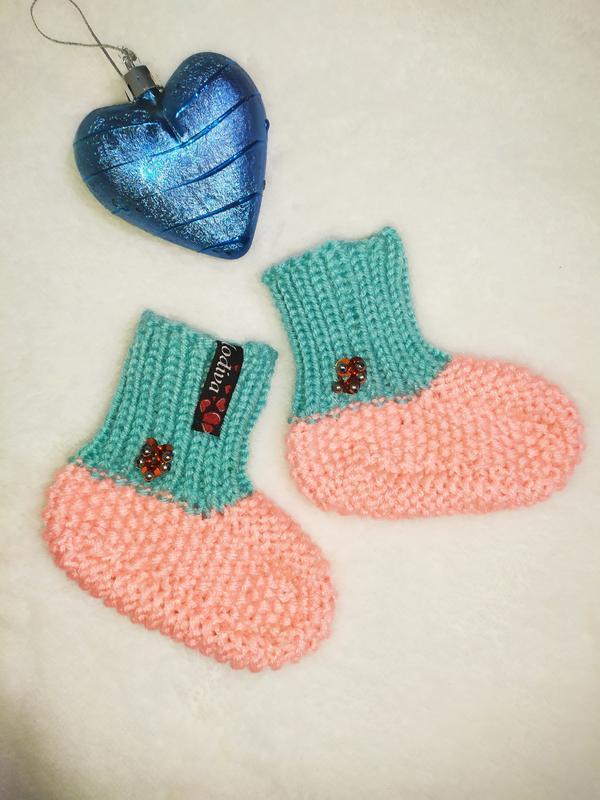 Носки для новорожденных младенцев тапочки пинетки милые