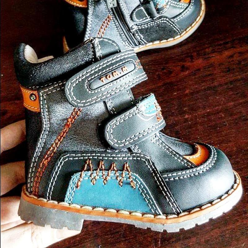 Кожаные ботинки tom.m.
