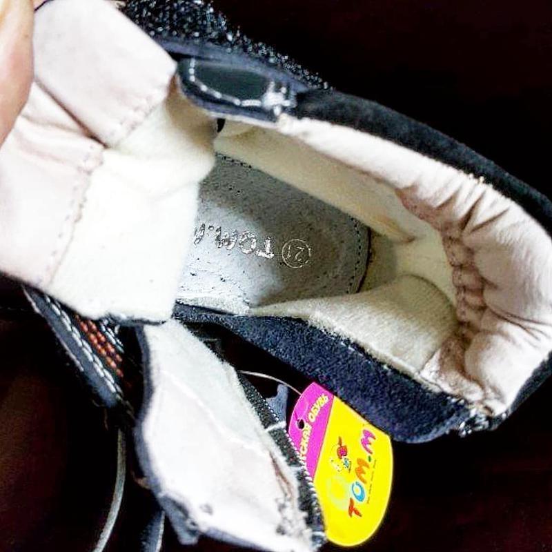 Кожаные ботинки tom.m. - Фото 2