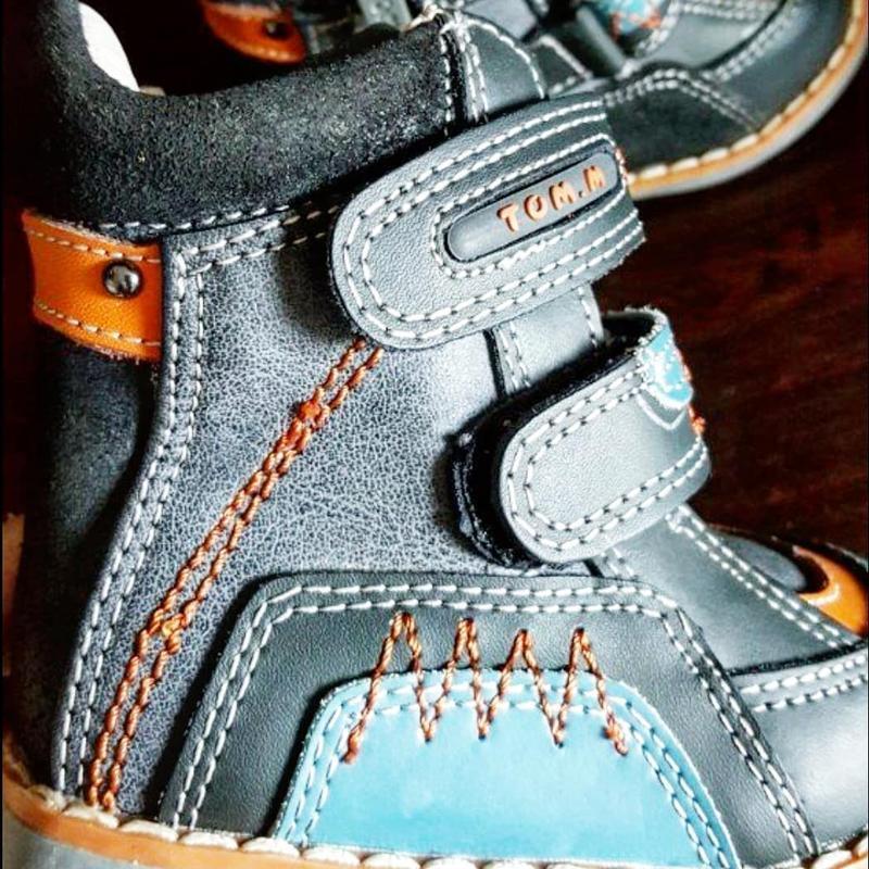 Кожаные ботинки tom.m. - Фото 3