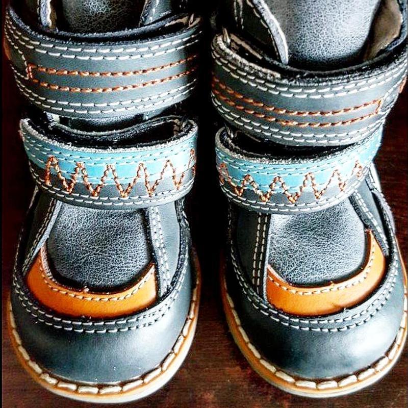 Кожаные ботинки tom.m. - Фото 4
