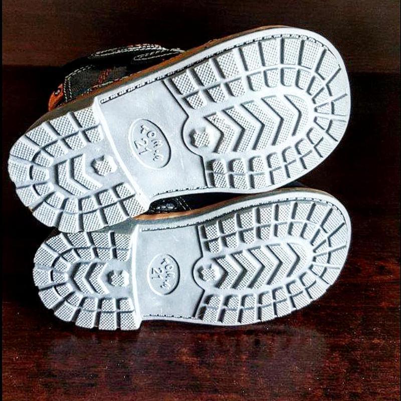 Кожаные ботинки tom.m. - Фото 5