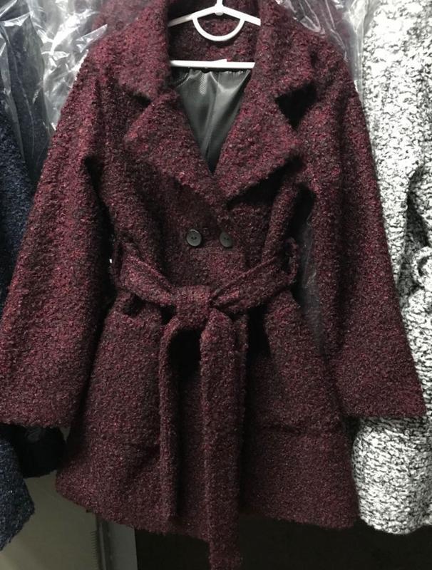 Шикарное пальто, отличного качества - Фото 2