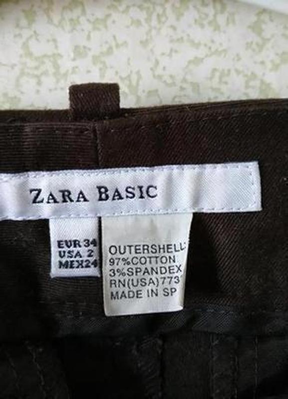 Плотные штанишки от zara - Фото 3