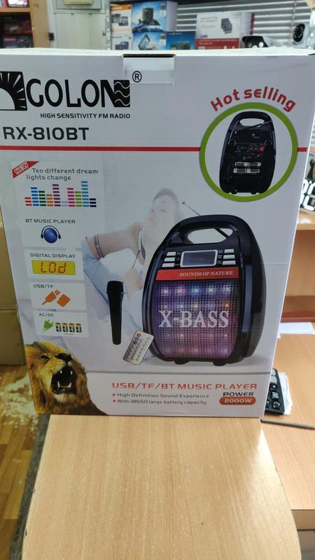 Колонка с микрофоном X-Bass RX 810