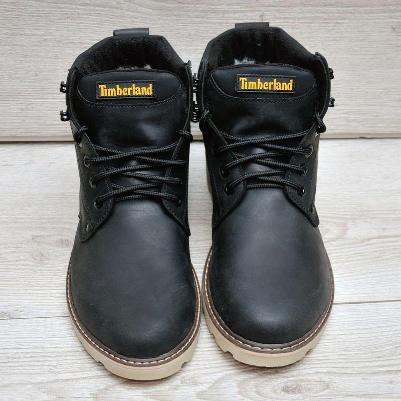 Timberland   зимние ботинки - Фото 2
