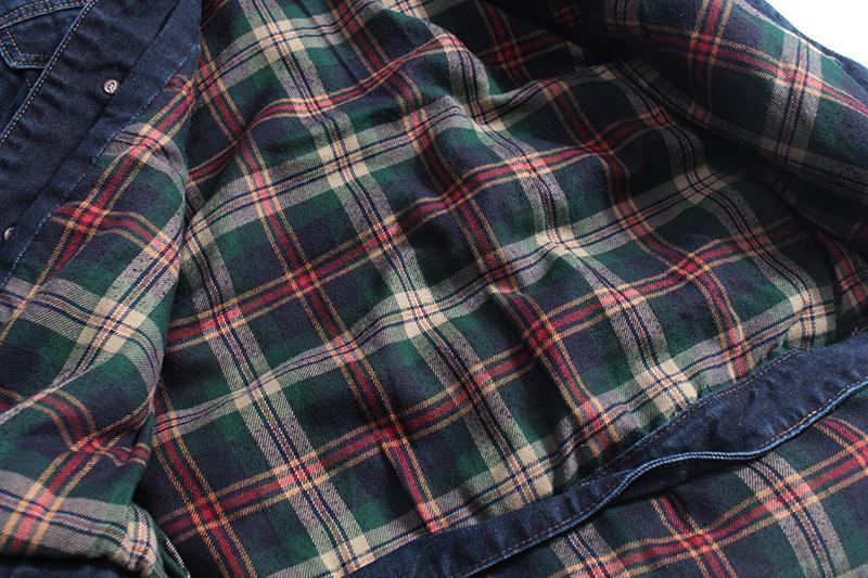 Мужская джинсовая жилетка - Фото 7