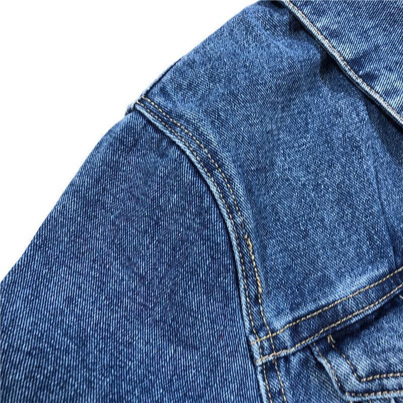 Мужская джинсовая куртка - Фото 6