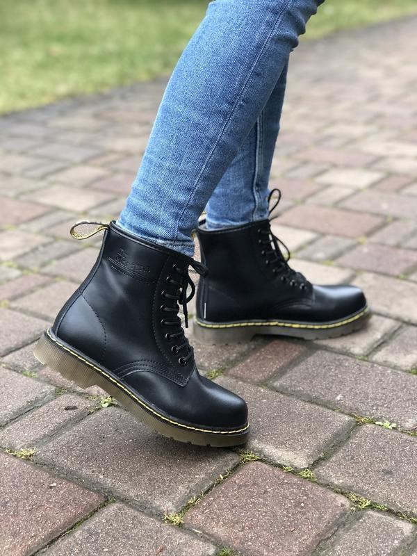 Шикарные ботинки dr martens - Фото 2