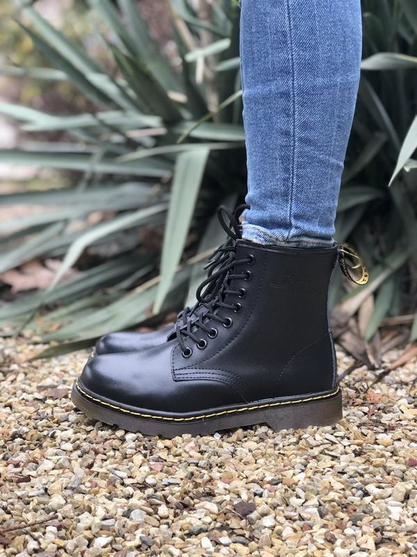 Шикарные ботинки dr martens - Фото 3