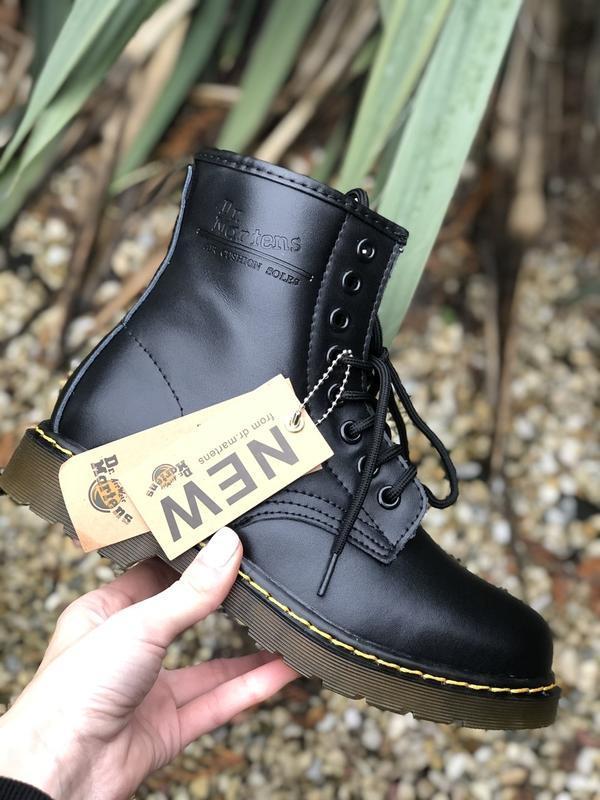 Шикарные ботинки dr martens - Фото 4