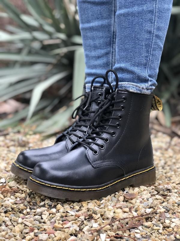Шикарные ботинки dr martens - Фото 5