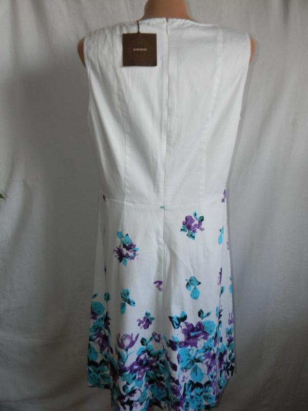 Новое натуральное платье savoir - Фото 2