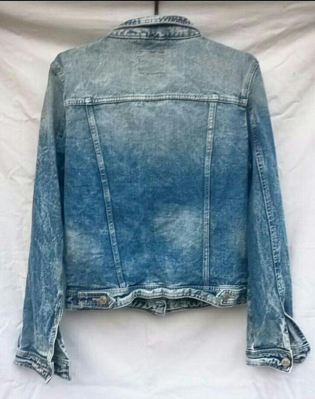 Джинсовая куртка джинсовка пиджак джинсовый варенка denim co - Фото 2