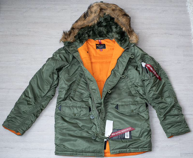 Куртка аляска альфа парка куртка alpha industries n-3b slim fit