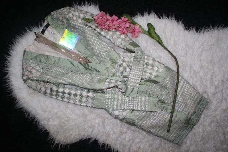 Особенное зеленое платье премиум класса - Фото 2