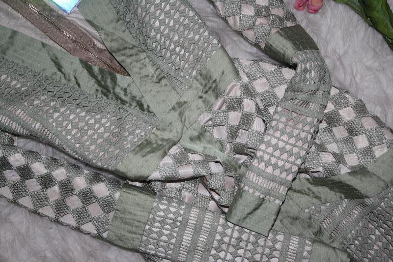 Особенное зеленое платье премиум класса - Фото 3