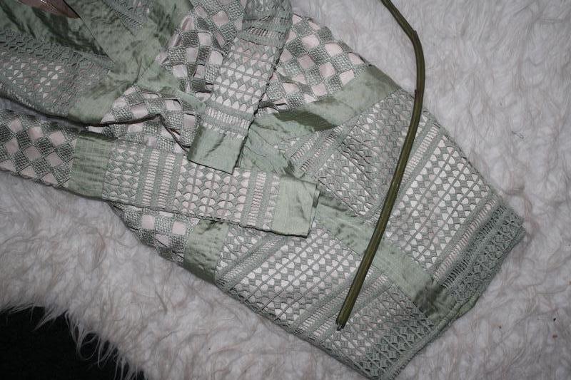 Особенное зеленое платье премиум класса - Фото 5