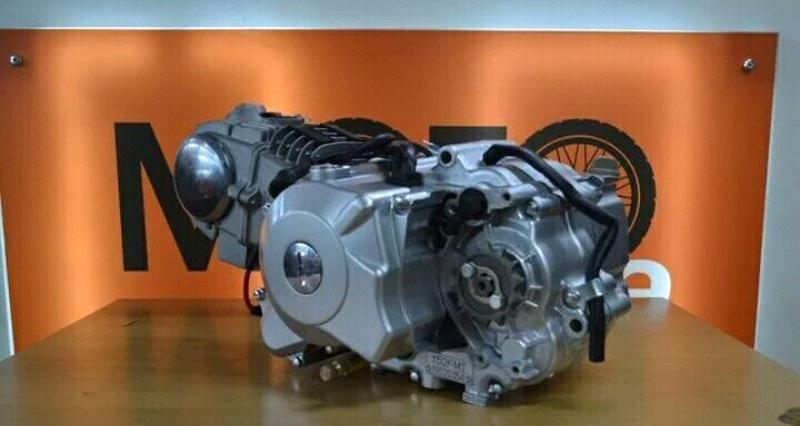 Двигатель для питбайка в сборе, 125см3 с эл.старт - Фото 3