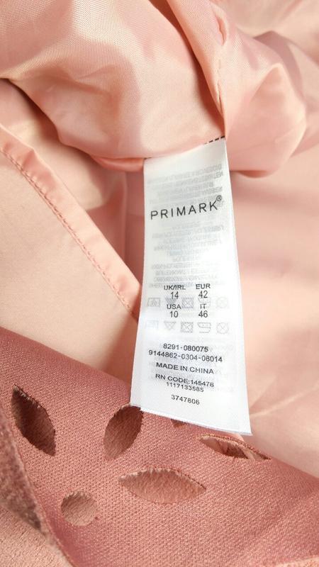 Пудровая юбка трапеция под замш primark - Фото 7
