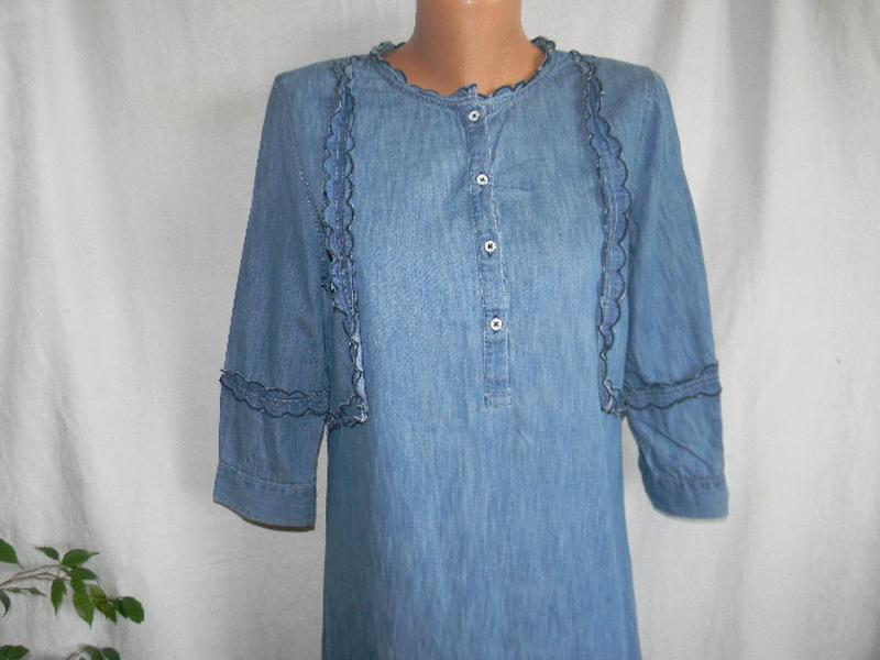 Джинсовое платье tu - Фото 2